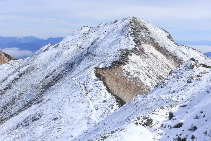 爺ヶ岳 201018 初雪_e0338862_15381197.jpg