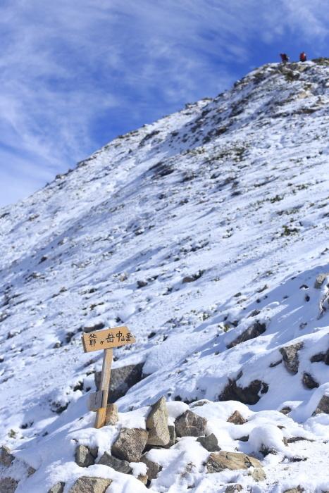 爺ヶ岳 201018 初雪_e0338862_15400868.jpg