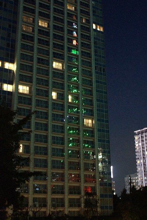 東京タワー☆グリーンに染まって_a0355365_22153898.jpg