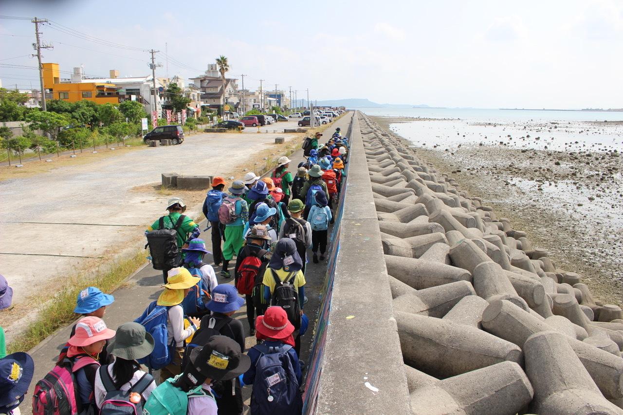 ネコクラブABC合同-06◆秋の干潟で収穫まつり(10/17)沖縄随一の干潟、泡瀬干潟で丸一日潮干狩りにチャレンジ。貝もカニもいっぱいで、お腹いっぱいになりました!_d0363878_00101334.jpeg