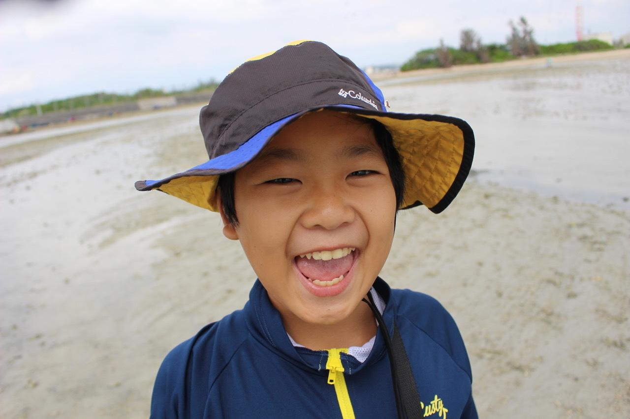 ネコクラブABC合同-06◆秋の干潟で収穫まつり(10/17)沖縄随一の干潟、泡瀬干潟で丸一日潮干狩りにチャレンジ。貝もカニもいっぱいで、お腹いっぱいになりました!_d0363878_00111204.jpeg