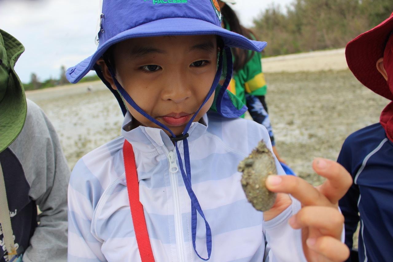 ネコクラブABC合同-06◆秋の干潟で収穫まつり(10/17)沖縄随一の干潟、泡瀬干潟で丸一日潮干狩りにチャレンジ。貝もカニもいっぱいで、お腹いっぱいになりました!_d0363878_00114711.jpeg