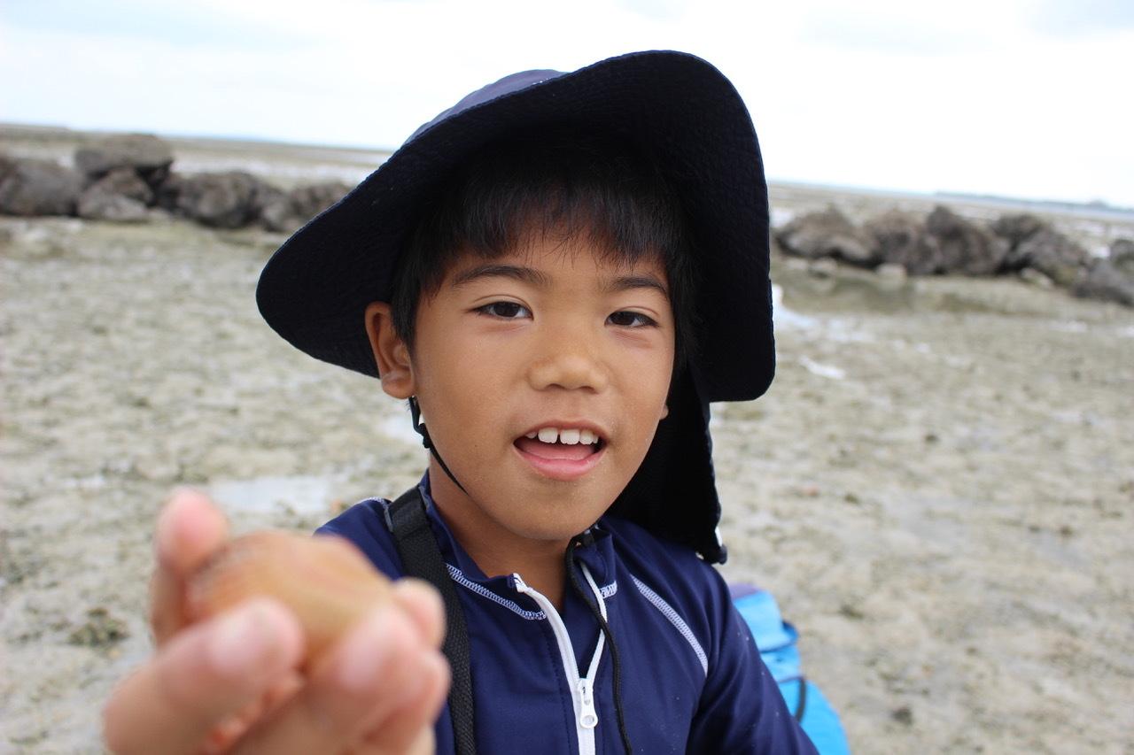 ネコクラブABC合同-06◆秋の干潟で収穫まつり(10/17)沖縄随一の干潟、泡瀬干潟で丸一日潮干狩りにチャレンジ。貝もカニもいっぱいで、お腹いっぱいになりました!_d0363878_00114799.jpeg