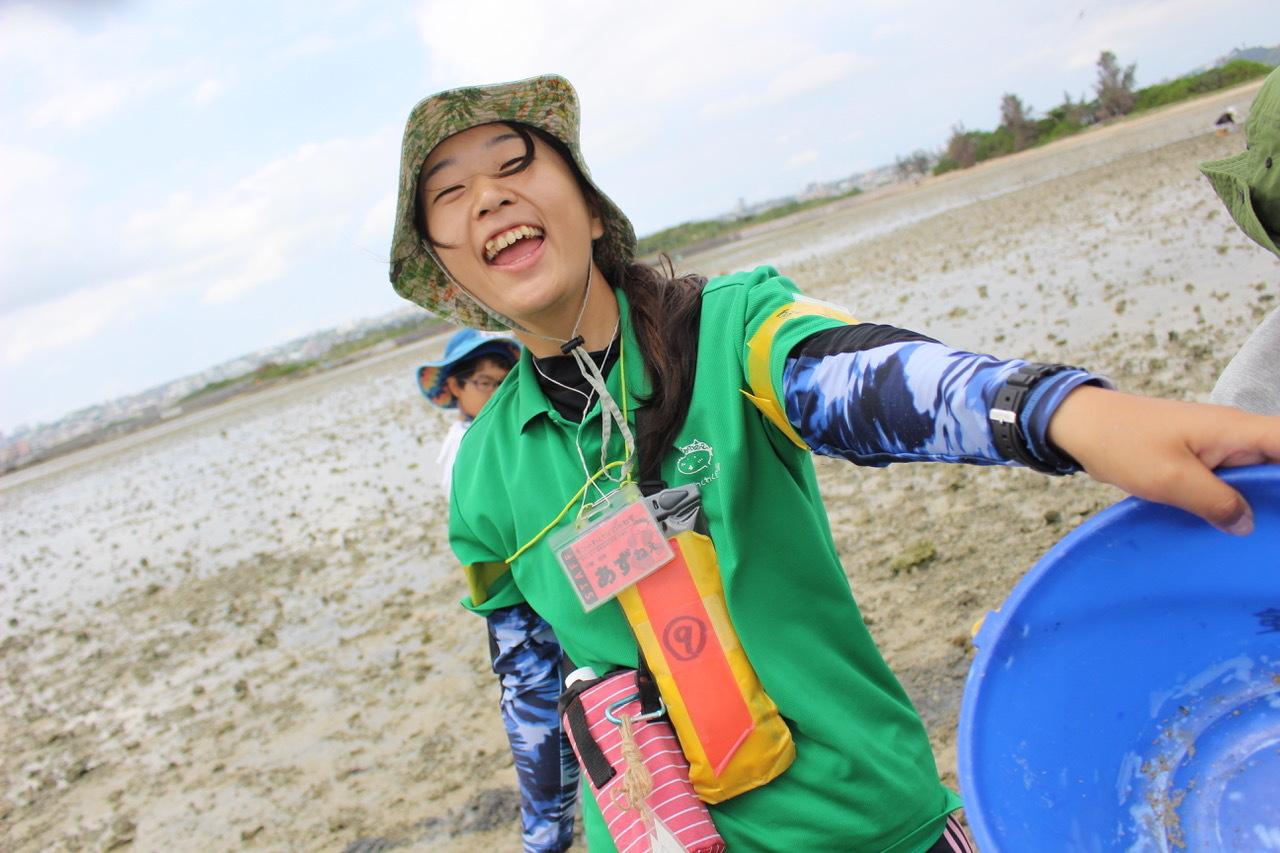 ネコクラブABC合同-06◆秋の干潟で収穫まつり(10/17)沖縄随一の干潟、泡瀬干潟で丸一日潮干狩りにチャレンジ。貝もカニもいっぱいで、お腹いっぱいになりました!_d0363878_00114800.jpeg