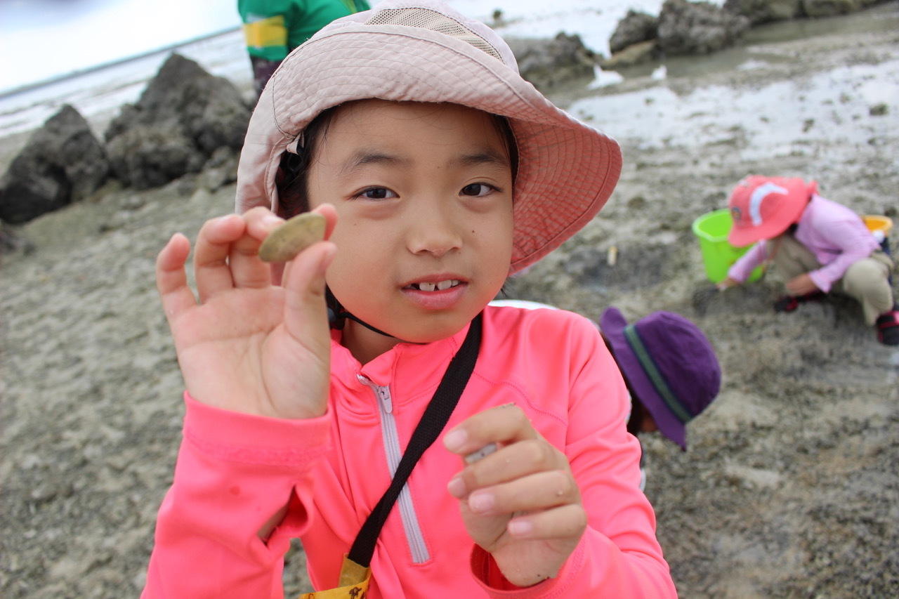 ネコクラブABC合同-06◆秋の干潟で収穫まつり(10/17)沖縄随一の干潟、泡瀬干潟で丸一日潮干狩りにチャレンジ。貝もカニもいっぱいで、お腹いっぱいになりました!_d0363878_00115829.jpeg