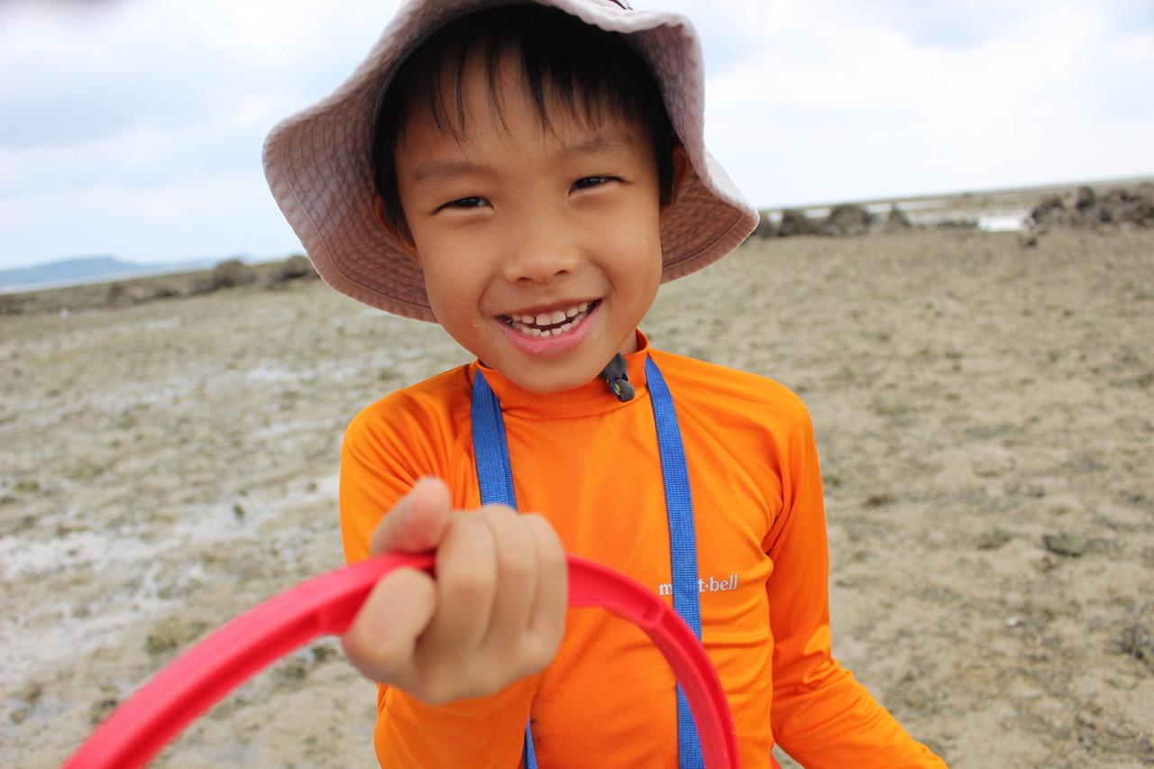 ネコクラブABC合同-06◆秋の干潟で収穫まつり(10/17)沖縄随一の干潟、泡瀬干潟で丸一日潮干狩りにチャレンジ。貝もカニもいっぱいで、お腹いっぱいになりました!_d0363878_00115987.jpeg