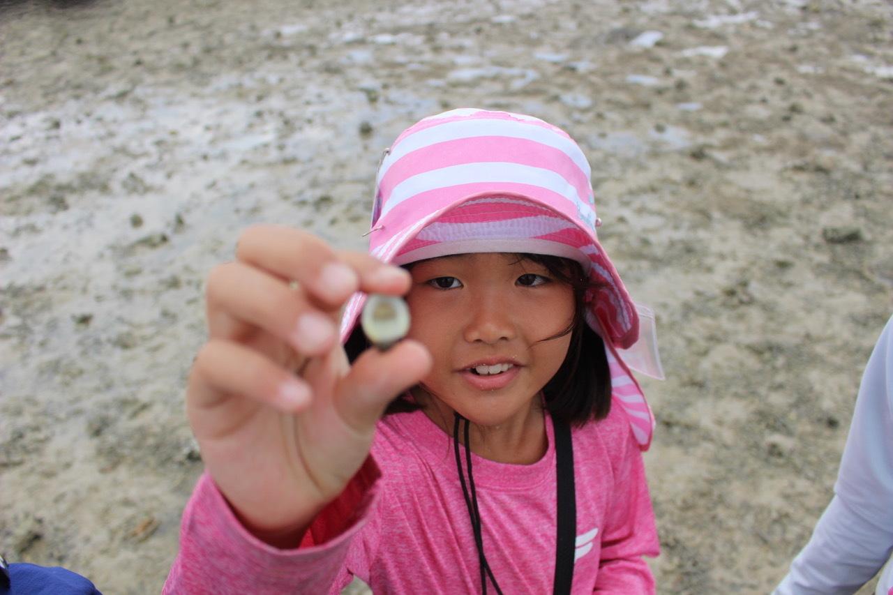 ネコクラブABC合同-06◆秋の干潟で収穫まつり(10/17)沖縄随一の干潟、泡瀬干潟で丸一日潮干狩りにチャレンジ。貝もカニもいっぱいで、お腹いっぱいになりました!_d0363878_00115992.jpeg