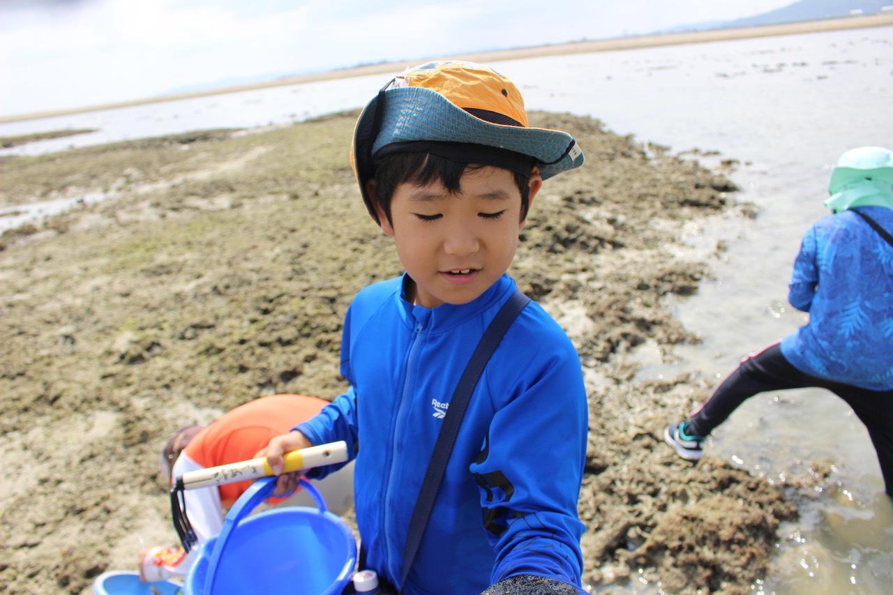 ネコクラブABC合同-06◆秋の干潟で収穫まつり(10/17)沖縄随一の干潟、泡瀬干潟で丸一日潮干狩りにチャレンジ。貝もカニもいっぱいで、お腹いっぱいになりました!_d0363878_00123282.jpeg