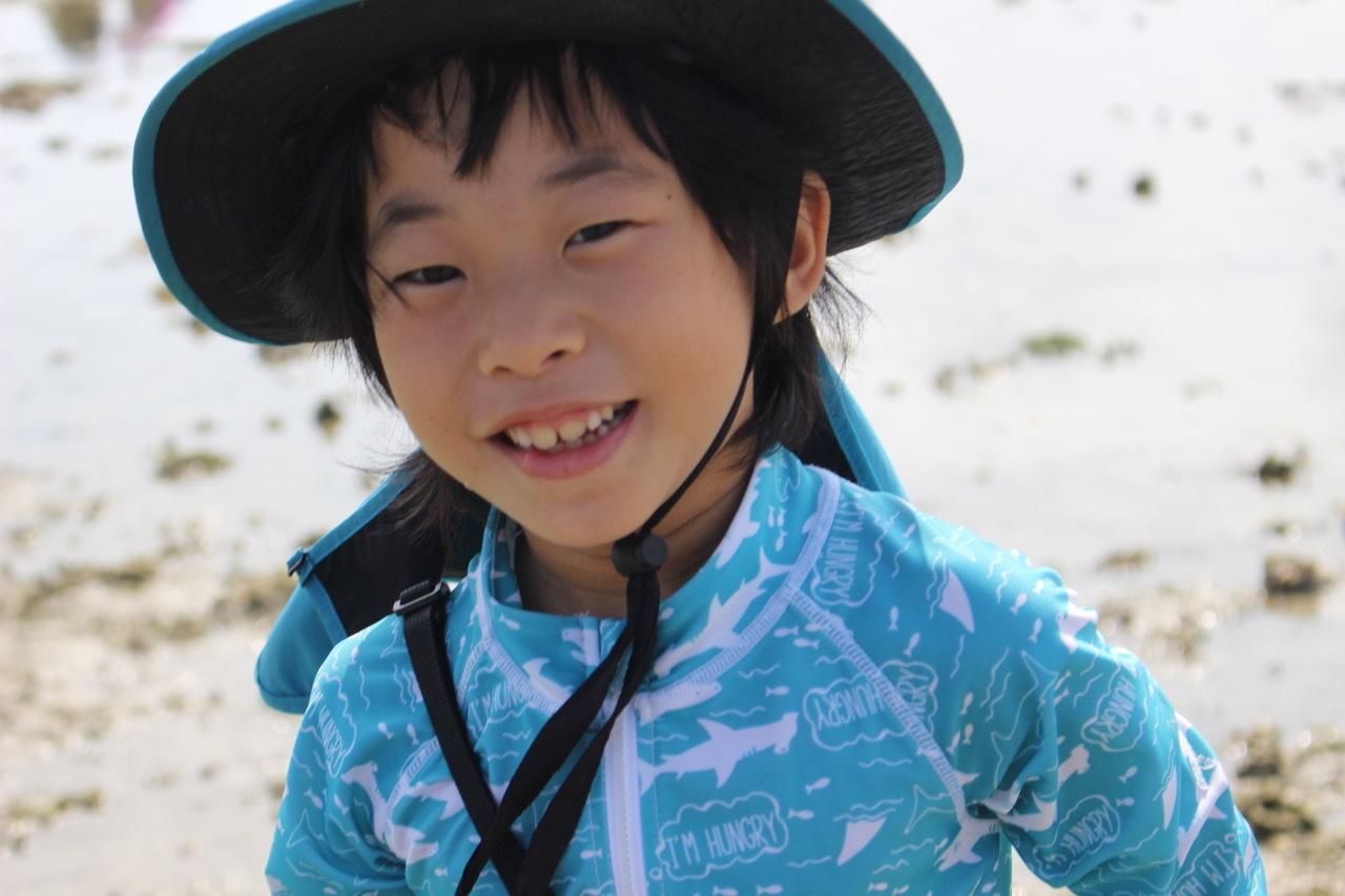 ネコクラブABC合同-06◆秋の干潟で収穫まつり(10/17)沖縄随一の干潟、泡瀬干潟で丸一日潮干狩りにチャレンジ。貝もカニもいっぱいで、お腹いっぱいになりました!_d0363878_00130508.jpeg
