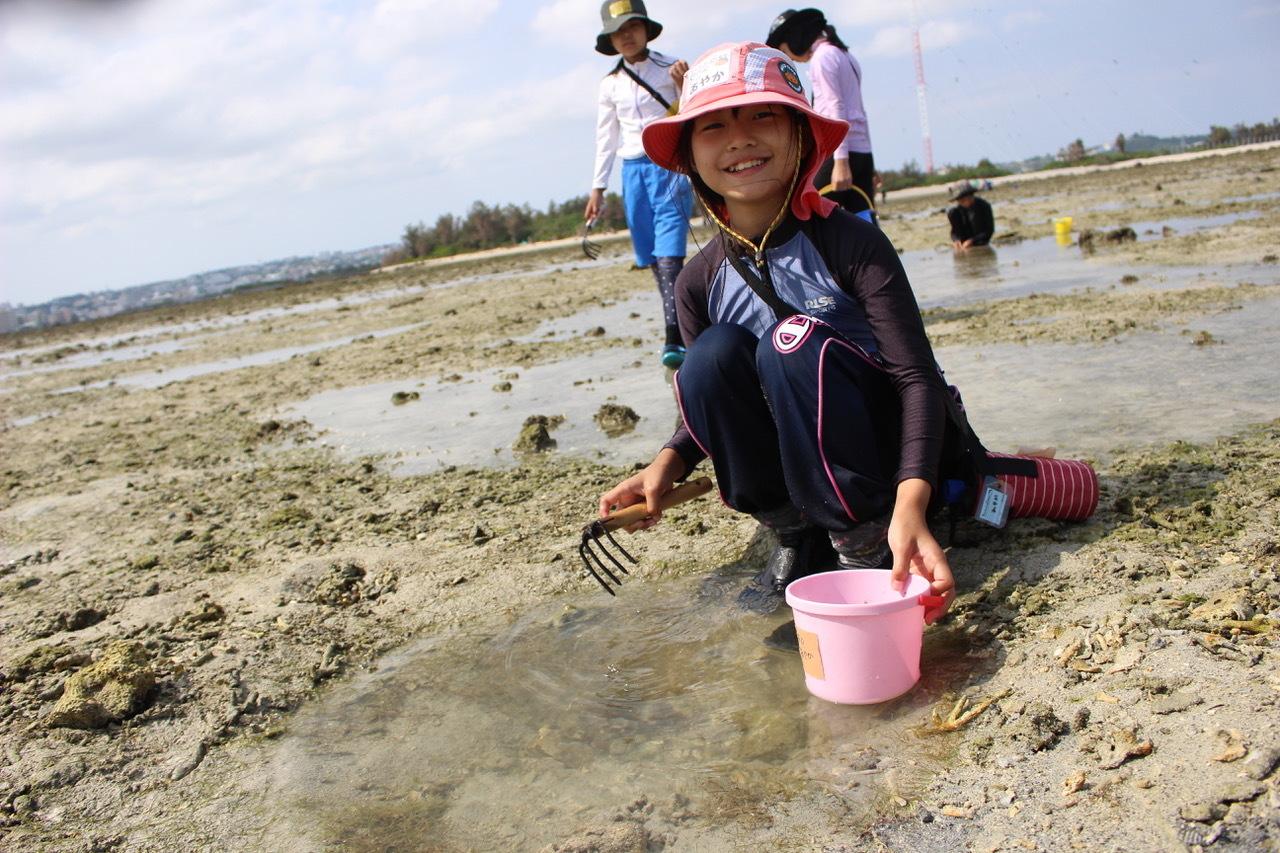 ネコクラブABC合同-06◆秋の干潟で収穫まつり(10/17)沖縄随一の干潟、泡瀬干潟で丸一日潮干狩りにチャレンジ。貝もカニもいっぱいで、お腹いっぱいになりました!_d0363878_00132103.jpeg