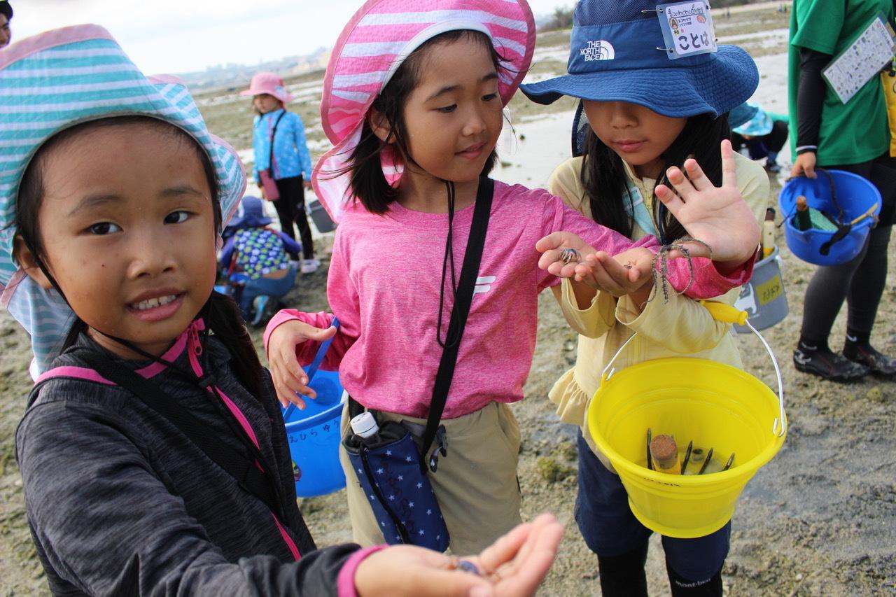 ネコクラブABC合同-06◆秋の干潟で収穫まつり(10/17)沖縄随一の干潟、泡瀬干潟で丸一日潮干狩りにチャレンジ。貝もカニもいっぱいで、お腹いっぱいになりました!_d0363878_00132117.jpeg