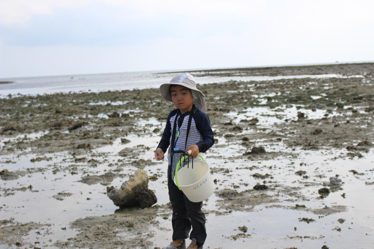 ネコクラブABC合同-06◆秋の干潟で収穫まつり(10/17)沖縄随一の干潟、泡瀬干潟で丸一日潮干狩りにチャレンジ。貝もカニもいっぱいで、お腹いっぱいになりました!_d0363878_00132161.jpeg