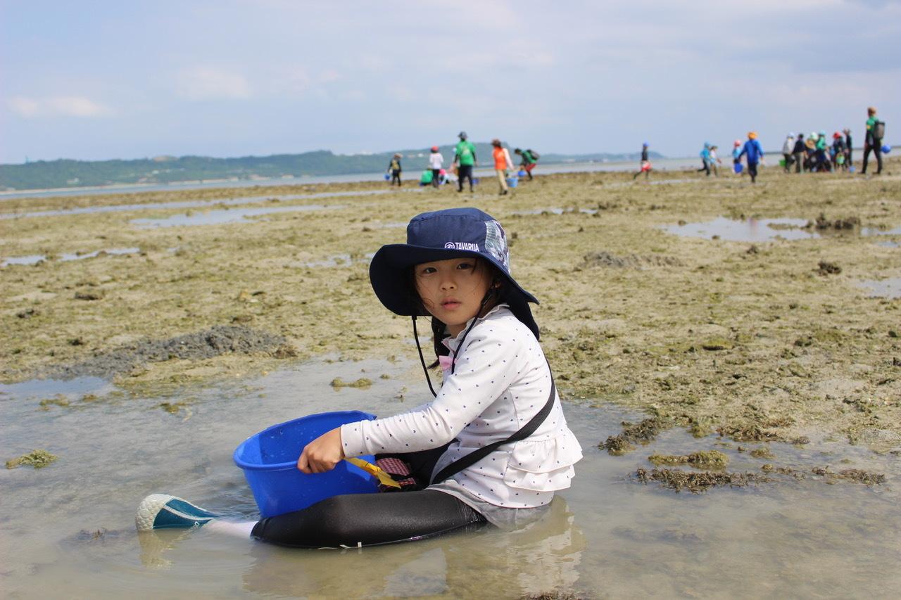 ネコクラブABC合同-06◆秋の干潟で収穫まつり(10/17)沖縄随一の干潟、泡瀬干潟で丸一日潮干狩りにチャレンジ。貝もカニもいっぱいで、お腹いっぱいになりました!_d0363878_00133449.jpeg