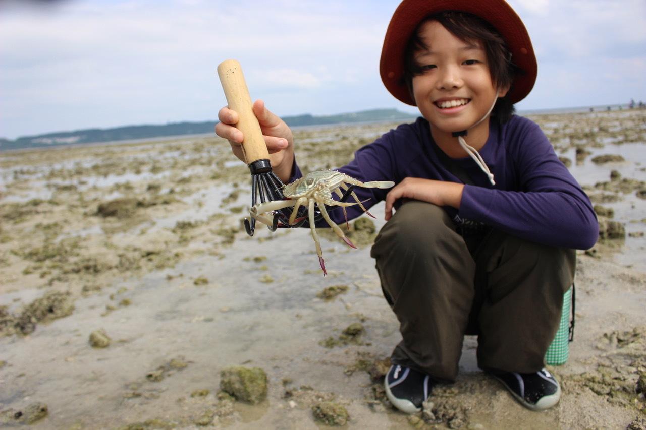 ネコクラブABC合同-06◆秋の干潟で収穫まつり(10/17)沖縄随一の干潟、泡瀬干潟で丸一日潮干狩りにチャレンジ。貝もカニもいっぱいで、お腹いっぱいになりました!_d0363878_00133514.jpeg