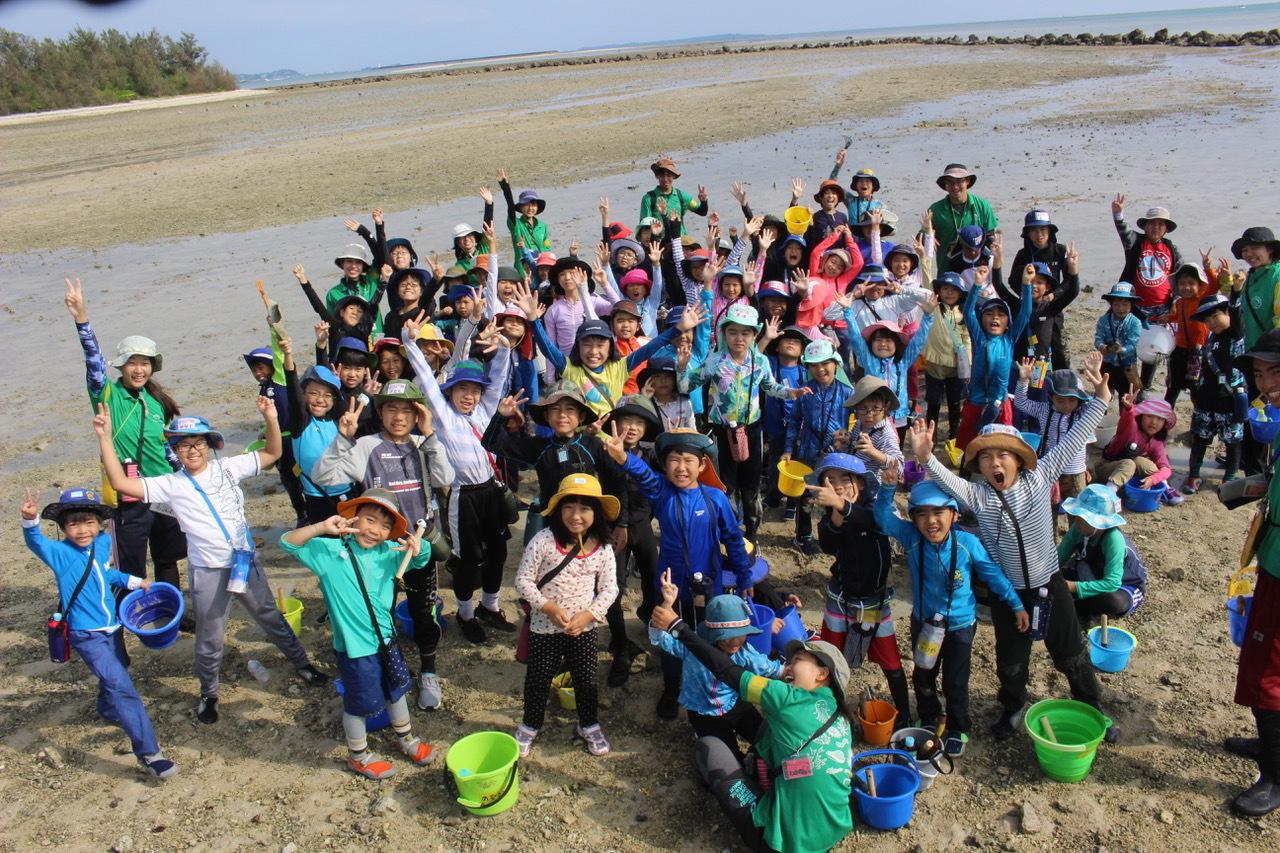 ネコクラブABC合同-06◆秋の干潟で収穫まつり(10/17)沖縄随一の干潟、泡瀬干潟で丸一日潮干狩りにチャレンジ。貝もカニもいっぱいで、お腹いっぱいになりました!_d0363878_00142855.jpeg