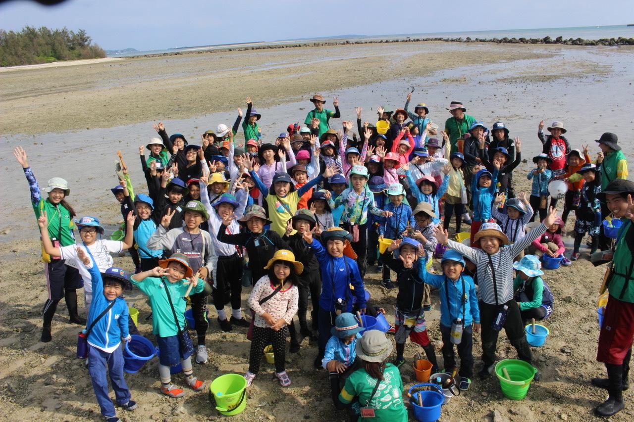 ネコクラブABC合同-06◆秋の干潟で収穫まつり(10/17)沖縄随一の干潟、泡瀬干潟で丸一日潮干狩りにチャレンジ。貝もカニもいっぱいで、お腹いっぱいになりました!_d0363878_00142882.jpeg