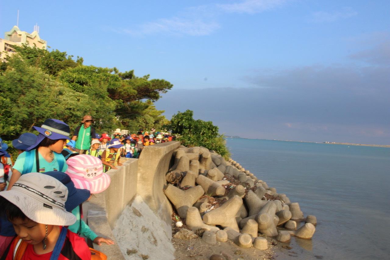 ネコクラブABC合同-06◆秋の干潟で収穫まつり(10/17)沖縄随一の干潟、泡瀬干潟で丸一日潮干狩りにチャレンジ。貝もカニもいっぱいで、お腹いっぱいになりました!_d0363878_00151022.jpeg
