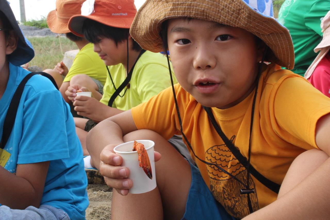 ネコクラブABC合同-06◆秋の干潟で収穫まつり(10/17)沖縄随一の干潟、泡瀬干潟で丸一日潮干狩りにチャレンジ。貝もカニもいっぱいで、お腹いっぱいになりました!_d0363878_00395359.jpeg