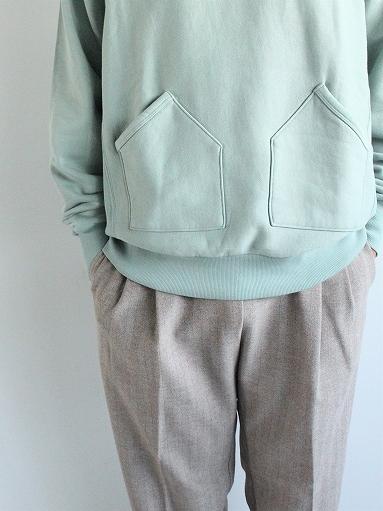 FLISTFIA Vintage Washed Hooded / Old Mint_b0139281_14340617.jpg