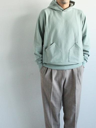 FLISTFIA Vintage Washed Hooded / Old Mint_b0139281_14340661.jpg