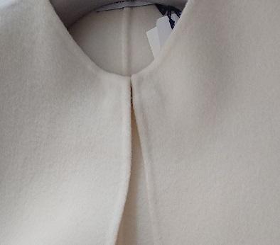 白いコート - jujuの日々