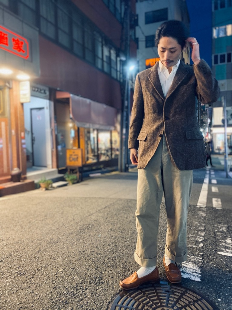 マグネッツ神戸店 ラフに扱いたいウールブレザージャケット!_c0078587_17553339.jpg