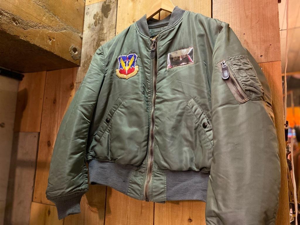 10月21日(水)マグネッツ大阪店Vintage入荷日!! #1 U.S.AirForce編!! B-15C,N-2A,MA-1,Blanket,CWU-14/P,A-4,A-1,B-15!!_c0078587_20115602.jpg