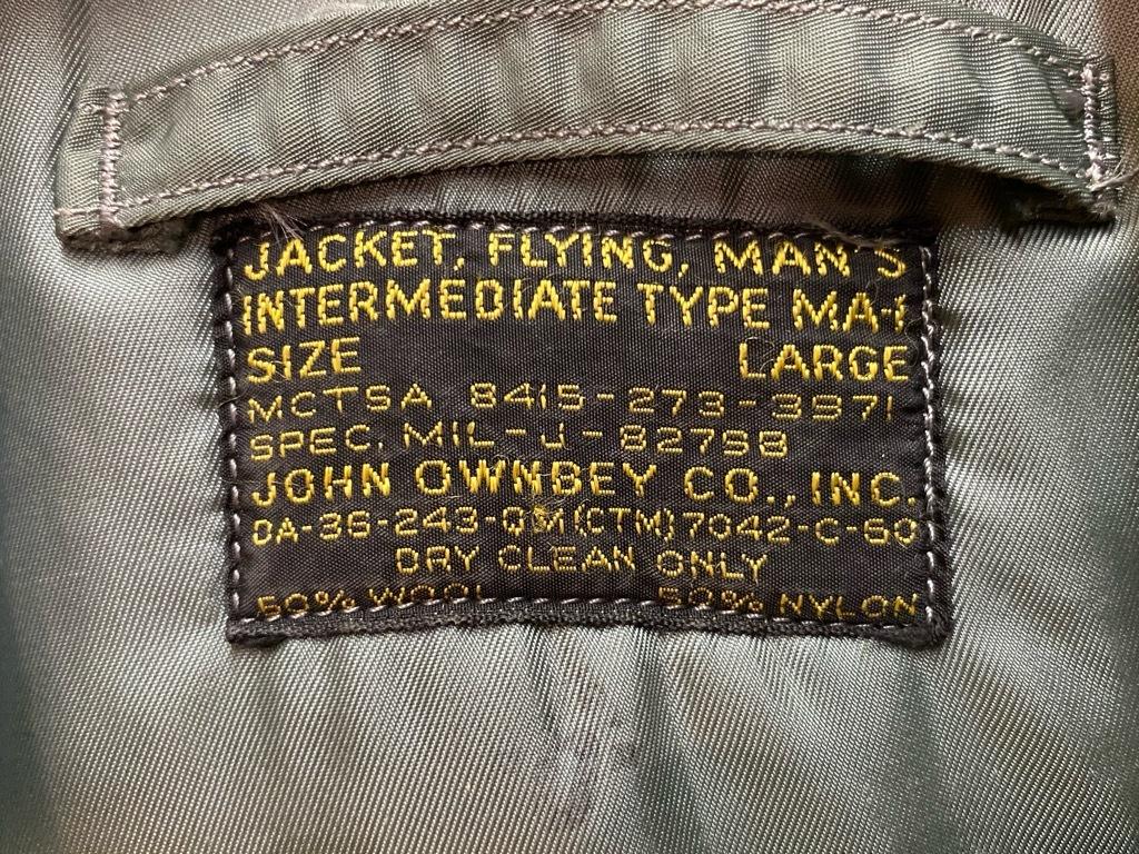 10月21日(水)マグネッツ大阪店Vintage入荷日!! #1 U.S.AirForce編!! B-15C,N-2A,MA-1,Blanket,CWU-14/P,A-4,A-1,B-15!!_c0078587_20120828.jpg