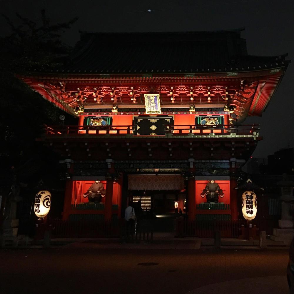 神田明神で夜の散歩_c0060143_04143913.jpg