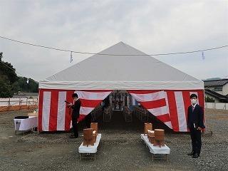 落合学校給食共同調理場建築工事 起工式_f0151251_17290229.jpg