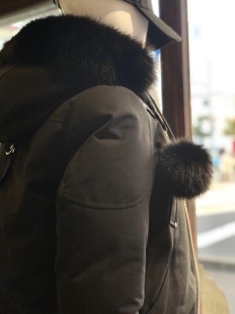 カナダ発「MOOSE KNUCKLESムースナックルズ」定番の【BONBER Jacket】入荷です。_c0204280_15511120.jpg