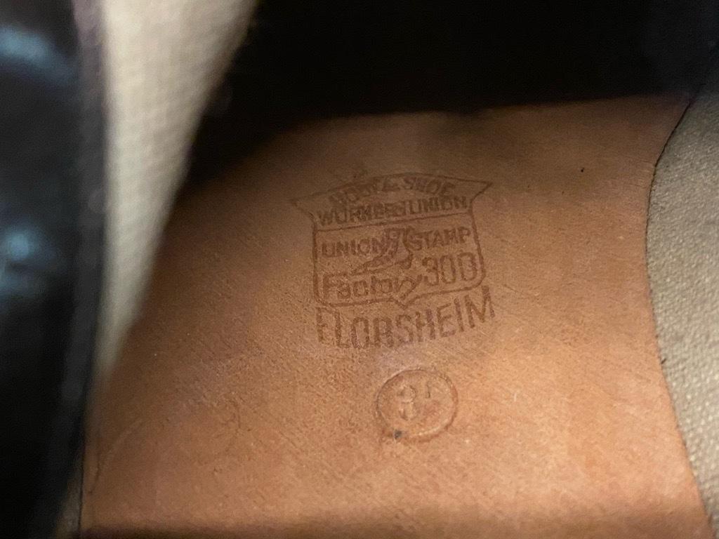 10月21日(水)マグネッツ大阪店Vintage入荷日!! #2 LeatherShoes編!! 20\'~Florsheim,NUNN-BUSH,L.&M.,Orthopedic,CogyFriend_c0078587_12334254.jpg