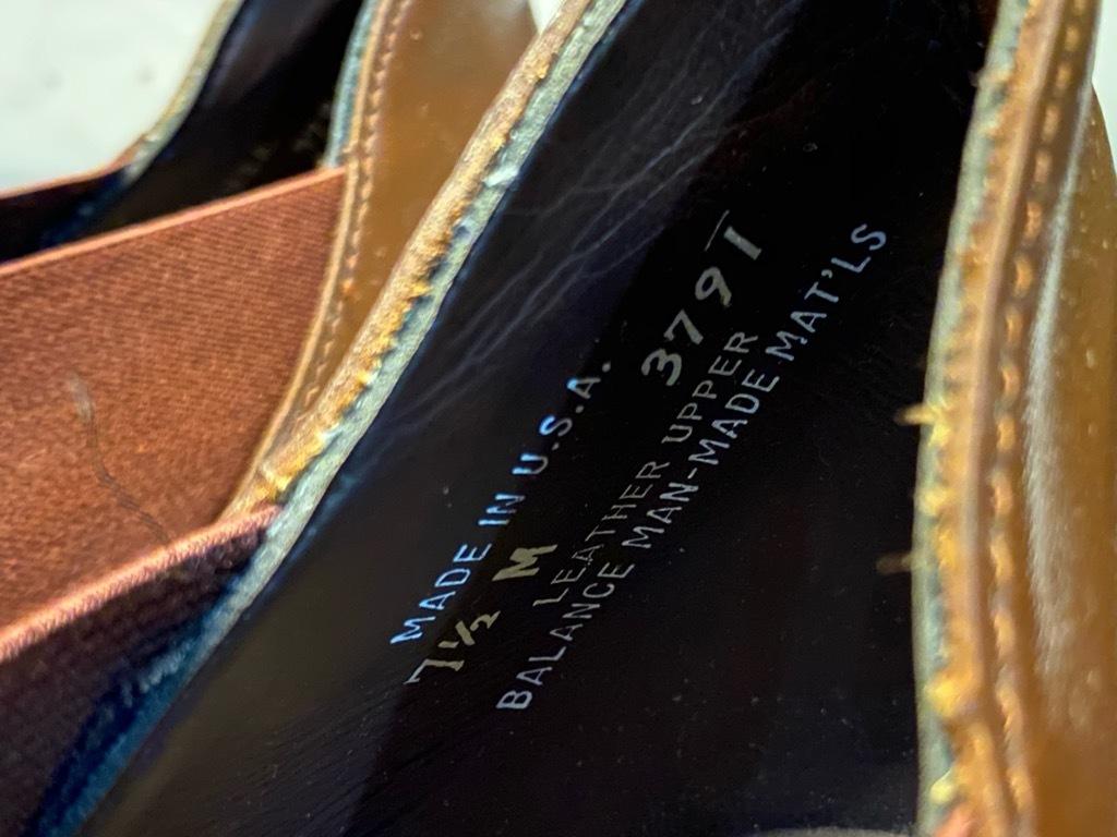 10月21日(水)マグネッツ大阪店Vintage入荷日!! #2 LeatherShoes編!! 20\'~Florsheim,NUNN-BUSH,L.&M.,Orthopedic,CogyFriend_c0078587_13081666.jpg