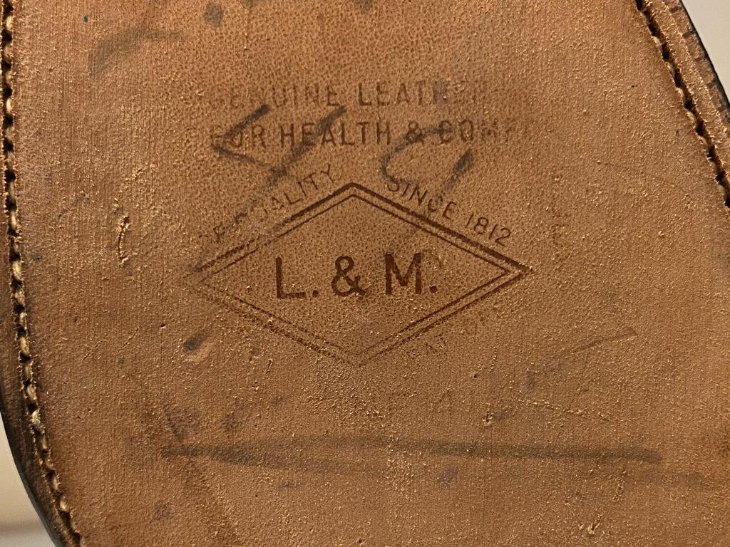 10月21日(水)マグネッツ大阪店Vintage入荷日!! #2 LeatherShoes編!! 20\'~Florsheim,NUNN-BUSH,L.&M.,Orthopedic,CogyFriend_c0078587_13161901.jpg