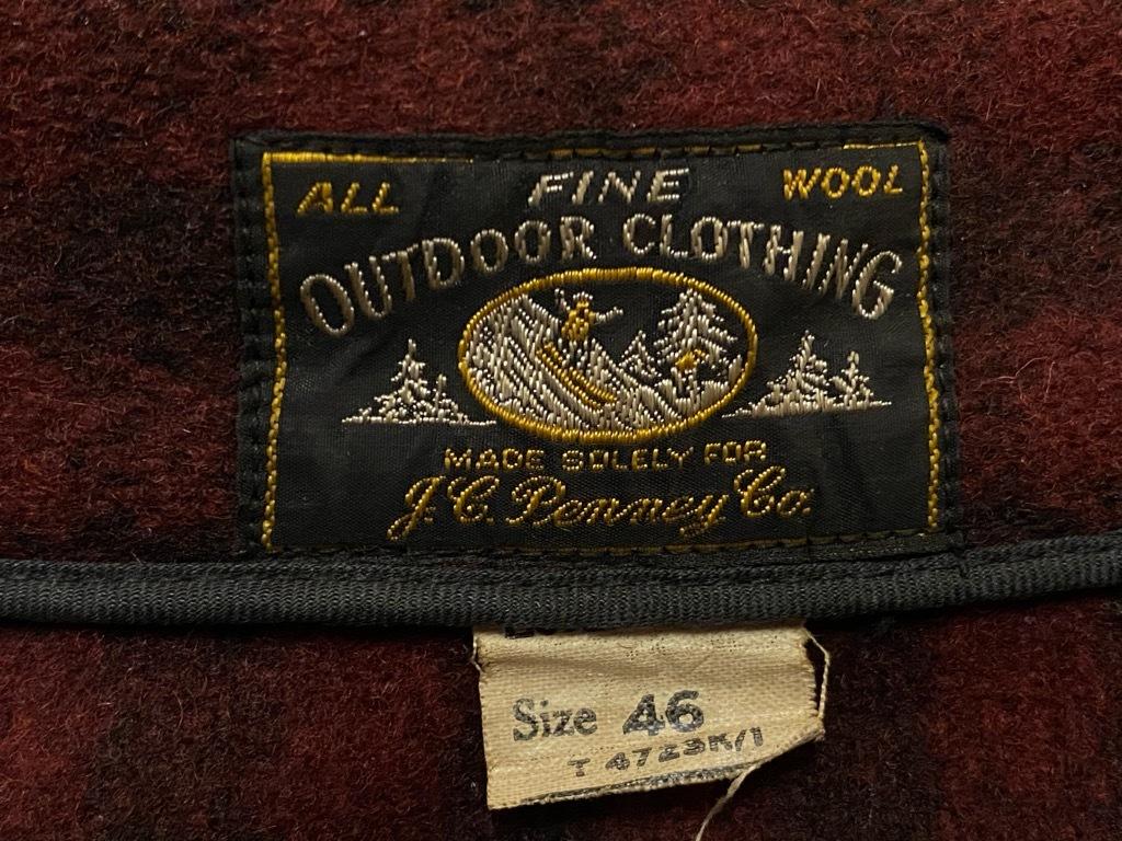 10月21日(水)マグネッツ大阪店Vintage入荷日!! #4 WoolSportsJkt編!! J.C.Penney Co.,Gordon,Field&Stream,FORTY BELOW,Pen_c0078587_15161957.jpg