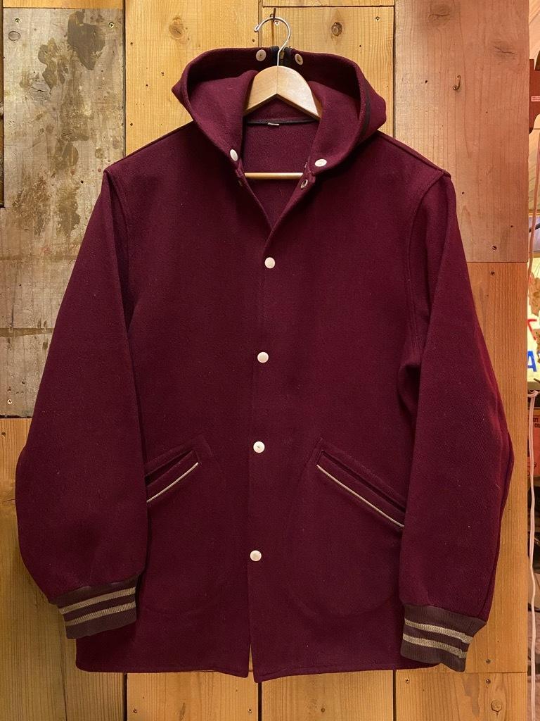 10月21日(水)マグネッツ大阪店Vintage入荷日!! #5 Athletic編!! HoodedBenchCoat,CorduroyJKT,Belt,AthleticSweater!!_c0078587_18122718.jpg