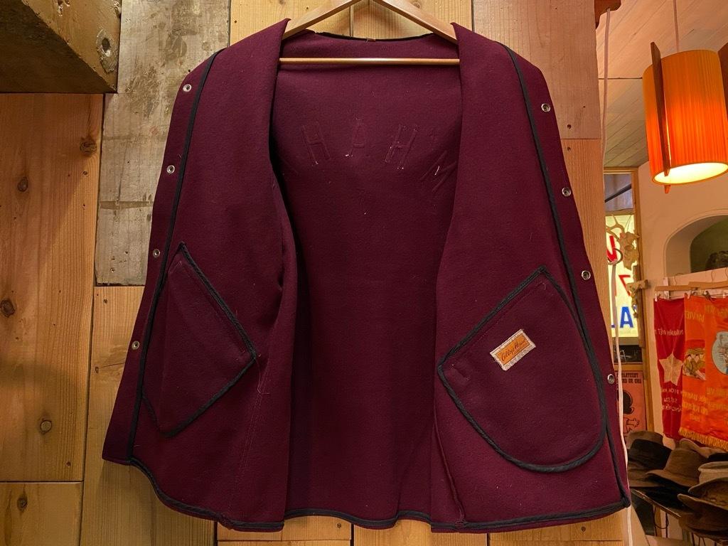 10月21日(水)マグネッツ大阪店Vintage入荷日!! #5 Athletic編!! HoodedBenchCoat,CorduroyJKT,Belt,AthleticSweater!!_c0078587_18125060.jpg