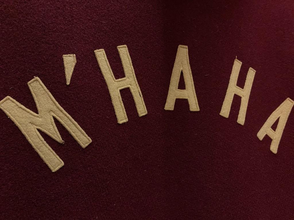 10月21日(水)マグネッツ大阪店Vintage入荷日!! #5 Athletic編!! HoodedBenchCoat,CorduroyJKT,Belt,AthleticSweater!!_c0078587_18125620.jpg