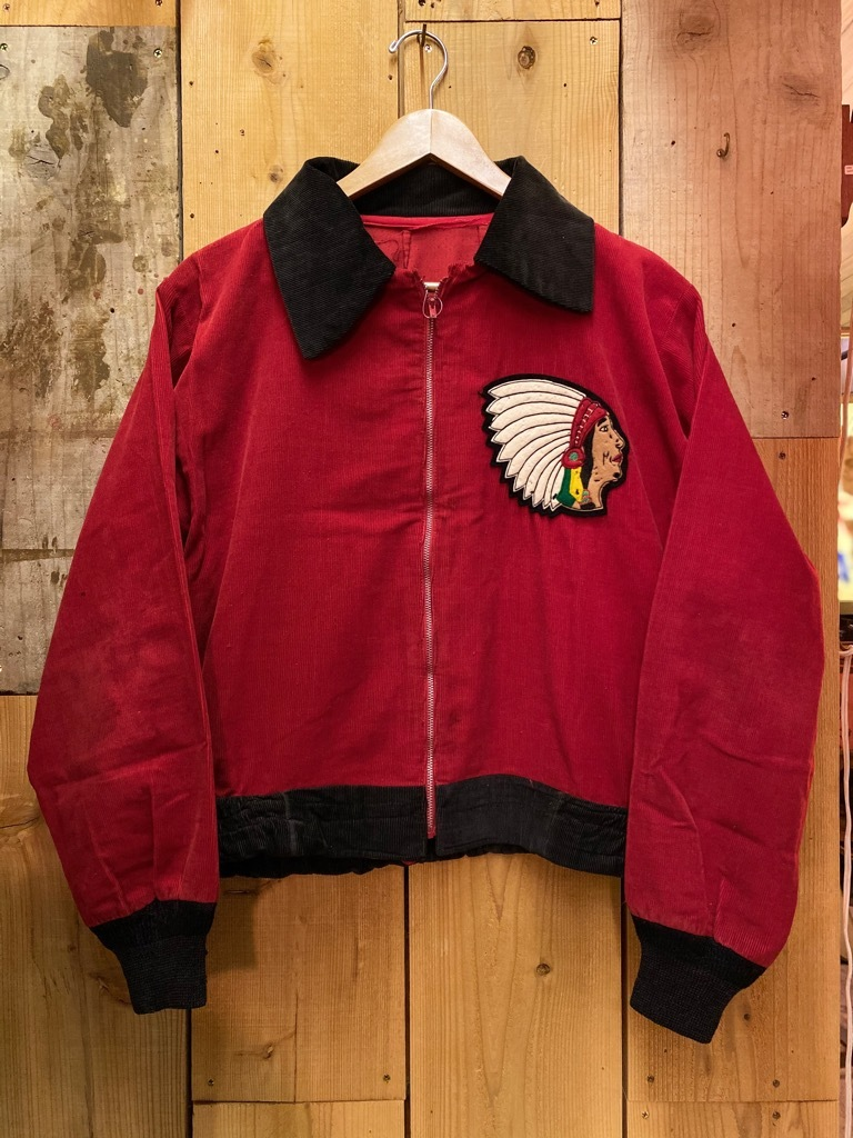 10月21日(水)マグネッツ大阪店Vintage入荷日!! #5 Athletic編!! HoodedBenchCoat,CorduroyJKT,Belt,AthleticSweater!!_c0078587_18155310.jpg