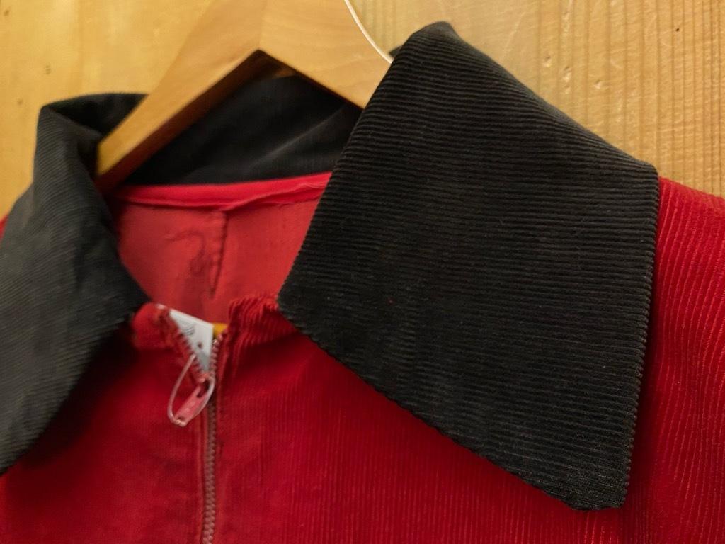 10月21日(水)マグネッツ大阪店Vintage入荷日!! #5 Athletic編!! HoodedBenchCoat,CorduroyJKT,Belt,AthleticSweater!!_c0078587_18155708.jpg