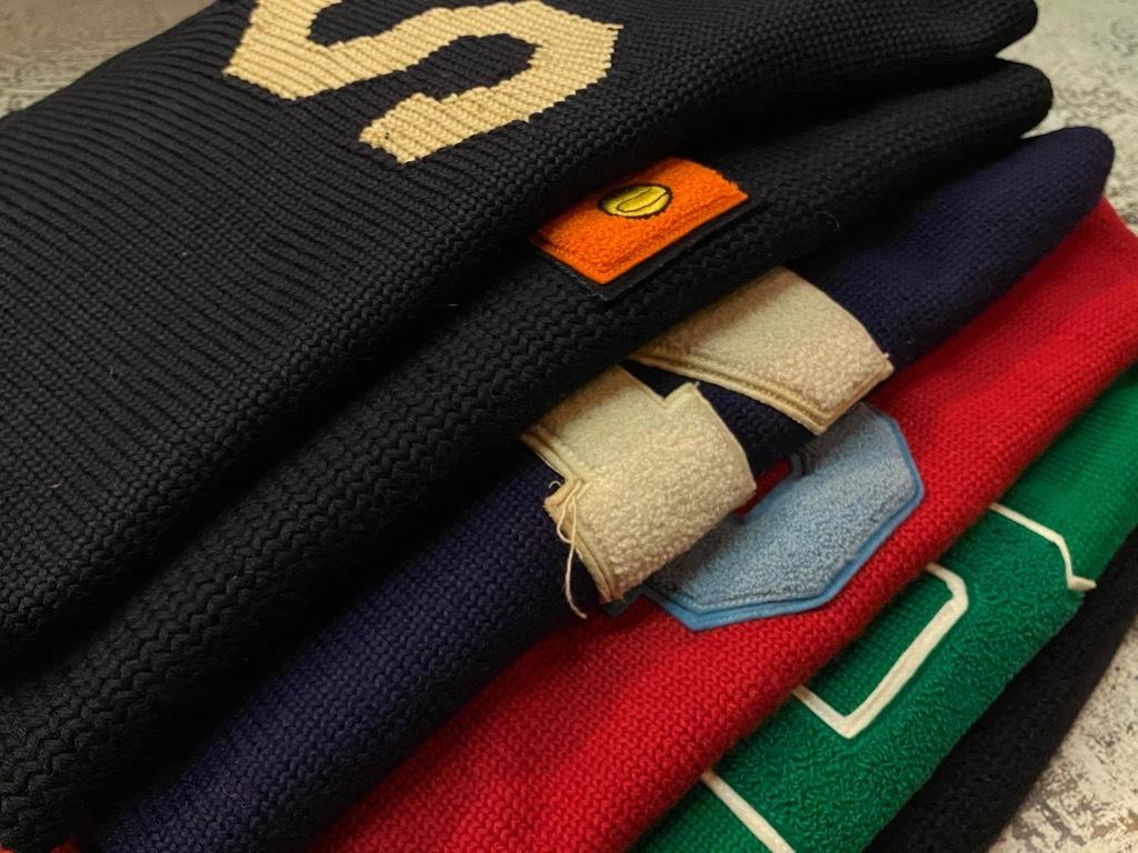 10月21日(水)マグネッツ大阪店Vintage入荷日!! #5 Athletic編!! HoodedBenchCoat,CorduroyJKT,Belt,AthleticSweater!!_c0078587_18210350.jpg