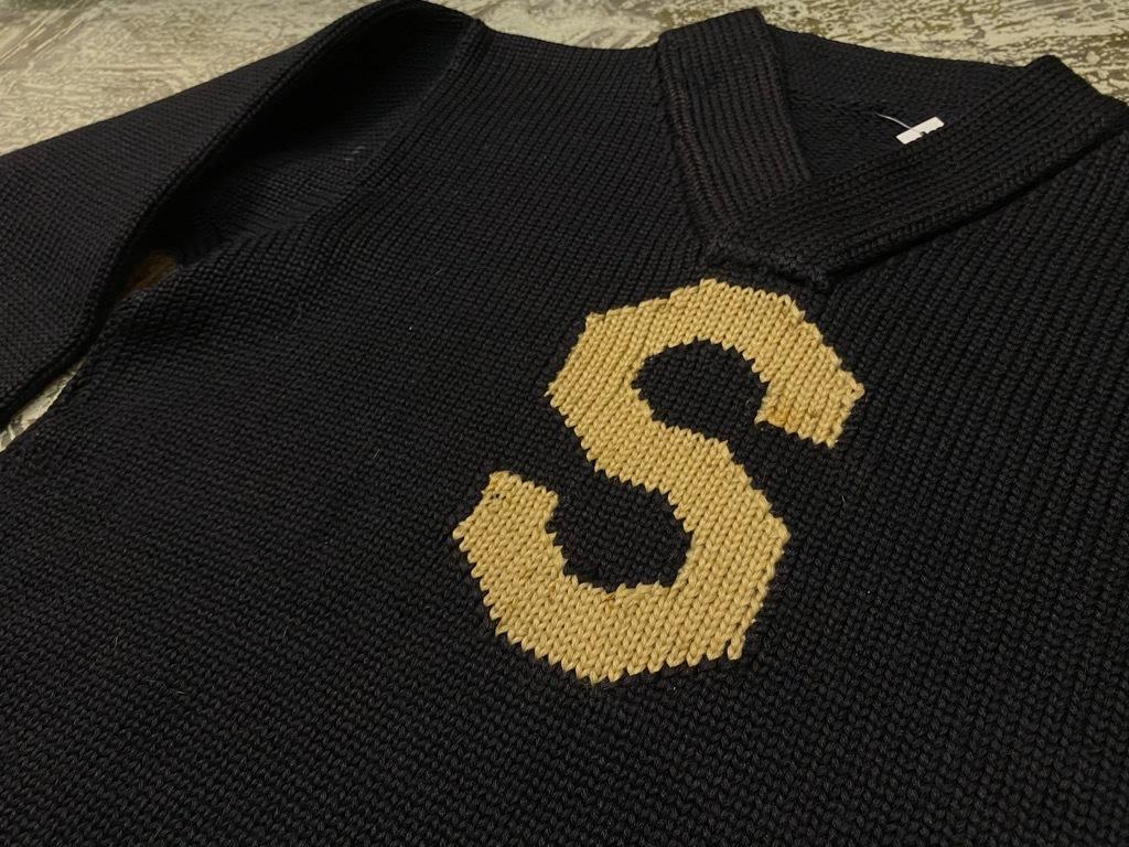 10月21日(水)マグネッツ大阪店Vintage入荷日!! #5 Athletic編!! HoodedBenchCoat,CorduroyJKT,Belt,AthleticSweater!!_c0078587_18212025.jpg