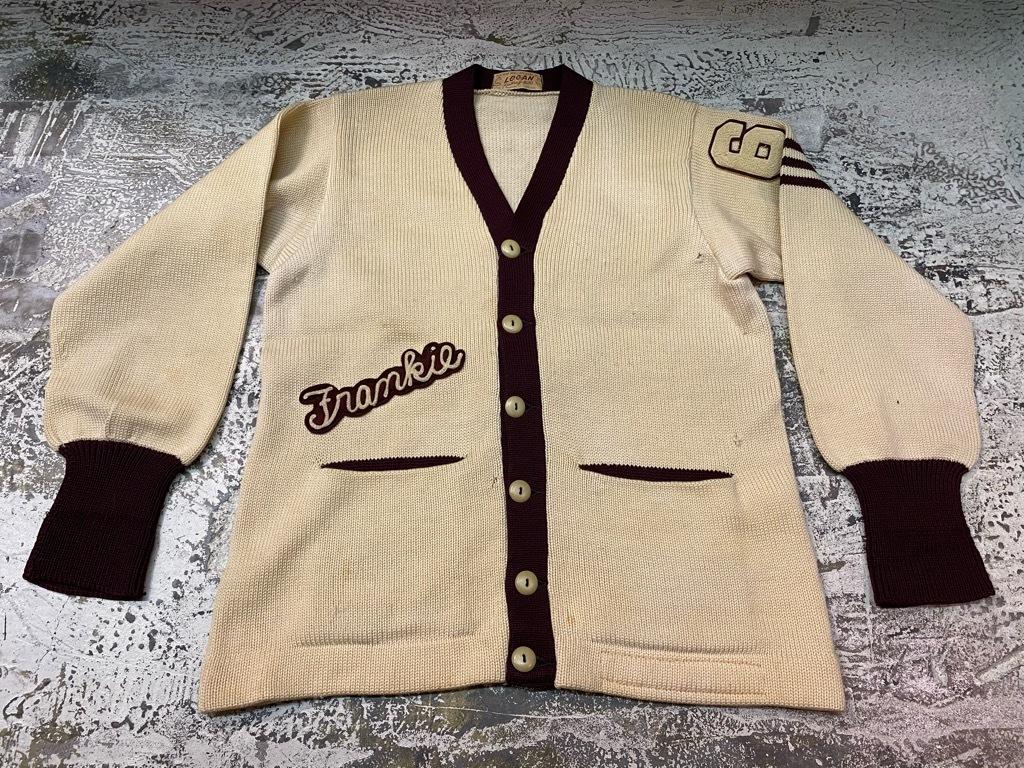 10月21日(水)マグネッツ大阪店Vintage入荷日!! #5 Athletic編!! HoodedBenchCoat,CorduroyJKT,Belt,AthleticSweater!!_c0078587_18255276.jpg