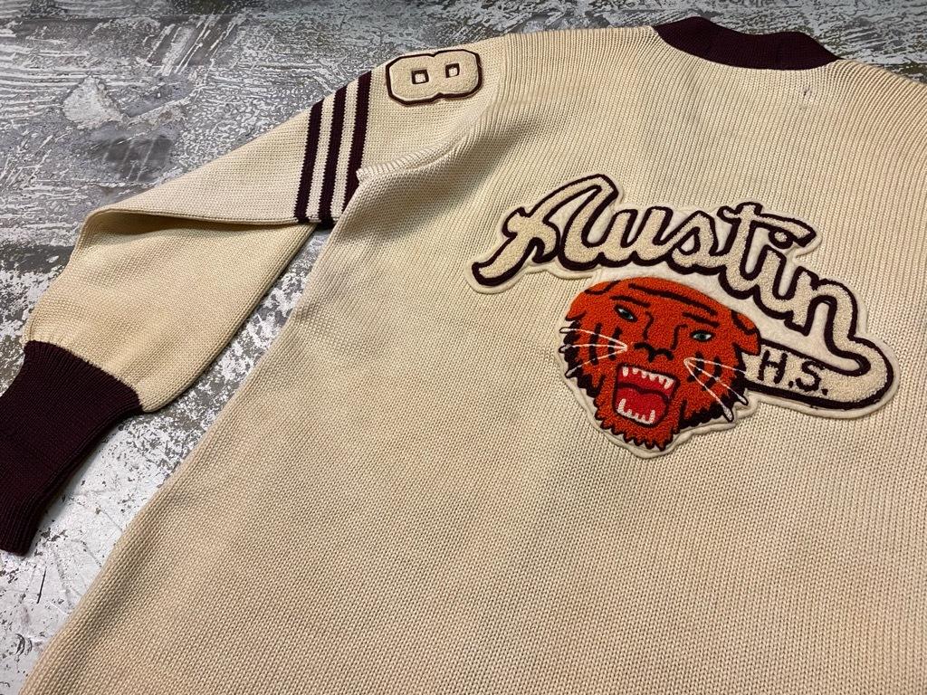 10月21日(水)マグネッツ大阪店Vintage入荷日!! #5 Athletic編!! HoodedBenchCoat,CorduroyJKT,Belt,AthleticSweater!!_c0078587_18260785.jpg