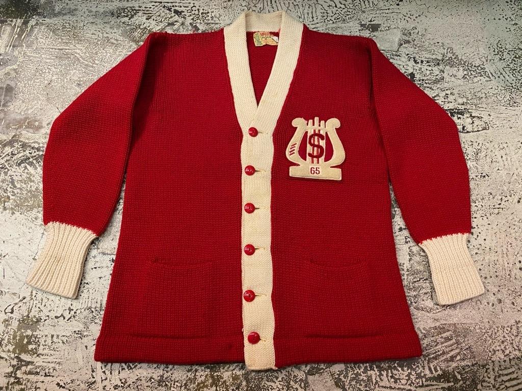 10月21日(水)マグネッツ大阪店Vintage入荷日!! #5 Athletic編!! HoodedBenchCoat,CorduroyJKT,Belt,AthleticSweater!!_c0078587_18272981.jpg