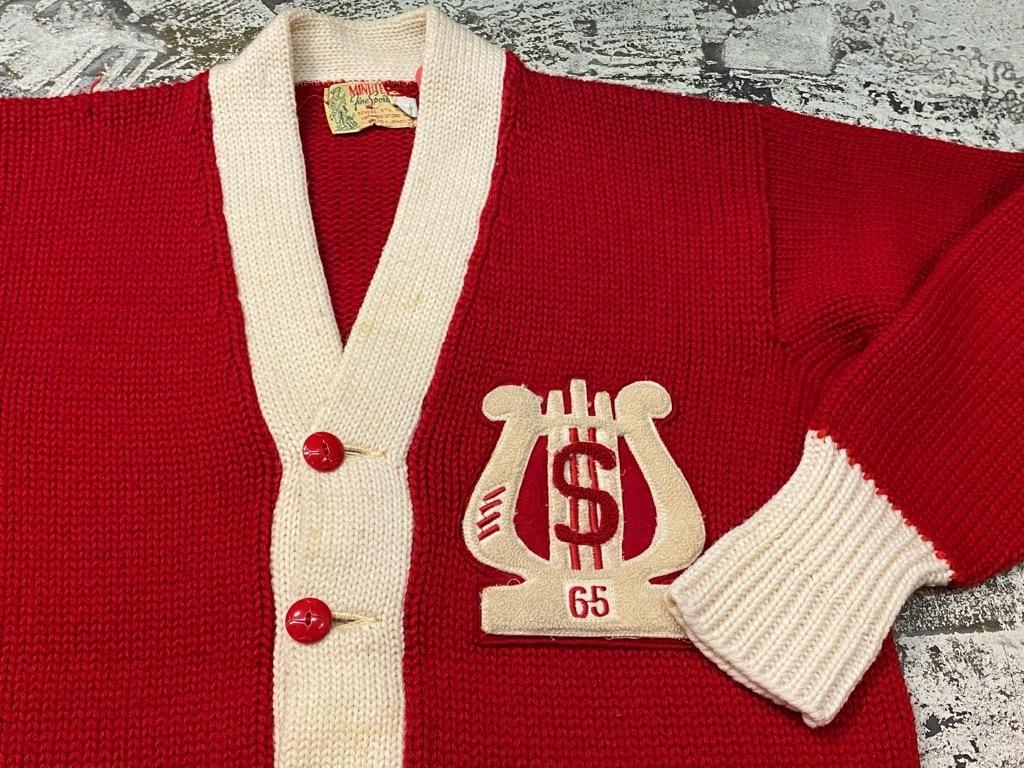 10月21日(水)マグネッツ大阪店Vintage入荷日!! #5 Athletic編!! HoodedBenchCoat,CorduroyJKT,Belt,AthleticSweater!!_c0078587_18273129.jpg