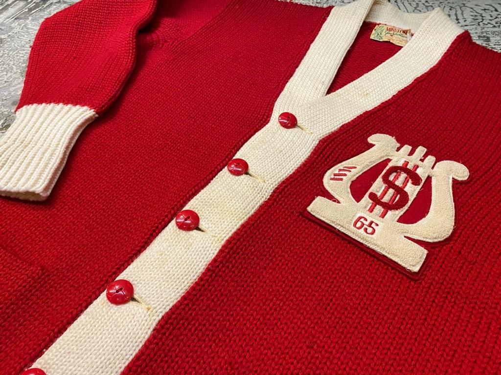 10月21日(水)マグネッツ大阪店Vintage入荷日!! #5 Athletic編!! HoodedBenchCoat,CorduroyJKT,Belt,AthleticSweater!!_c0078587_18273948.jpg