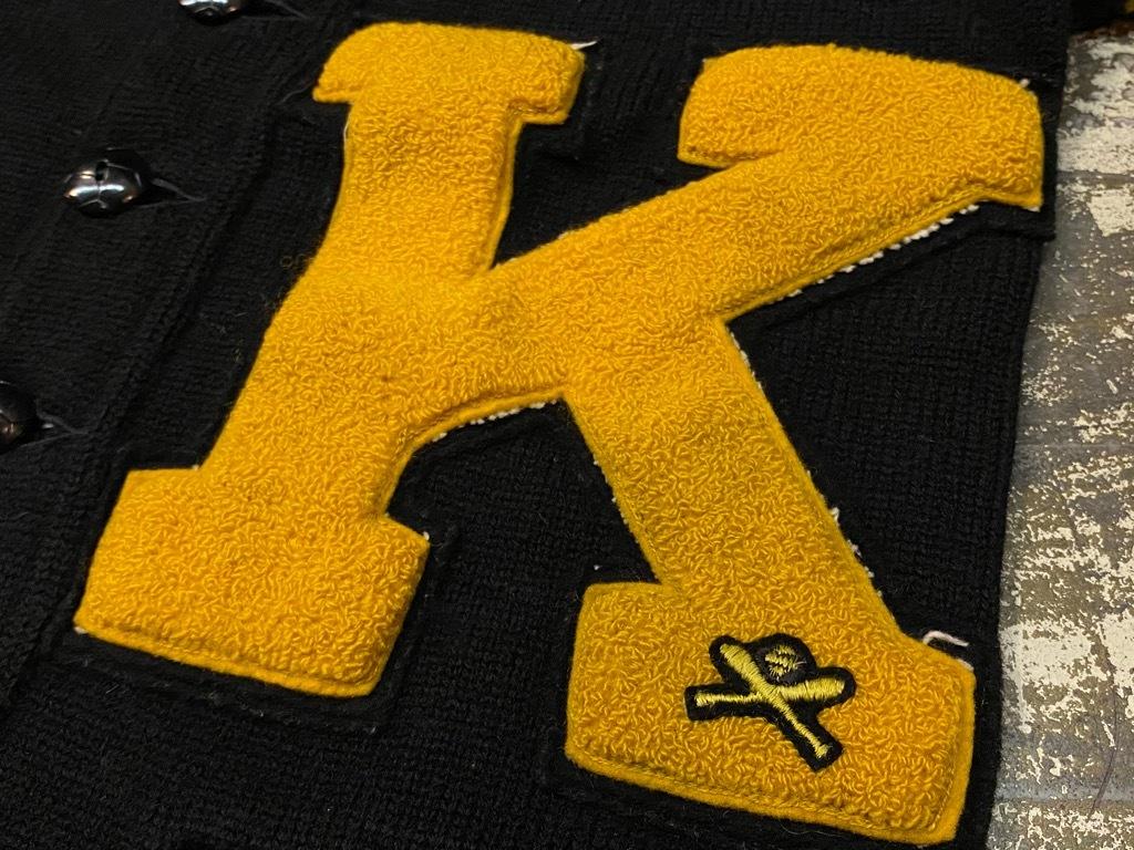 10月21日(水)マグネッツ大阪店Vintage入荷日!! #5 Athletic編!! HoodedBenchCoat,CorduroyJKT,Belt,AthleticSweater!!_c0078587_18275235.jpg