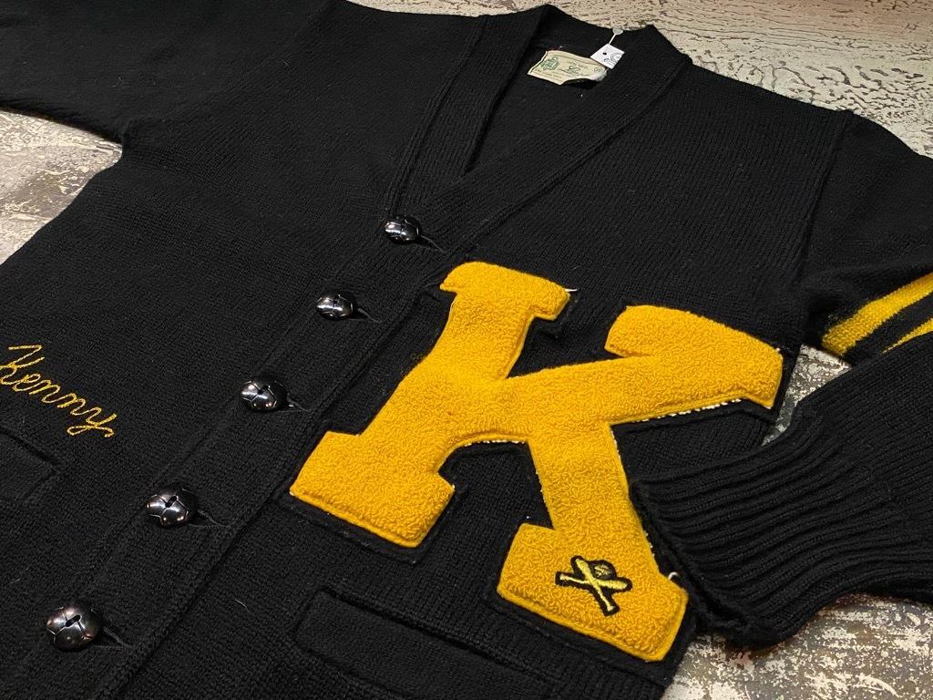 10月21日(水)マグネッツ大阪店Vintage入荷日!! #5 Athletic編!! HoodedBenchCoat,CorduroyJKT,Belt,AthleticSweater!!_c0078587_18275751.jpg