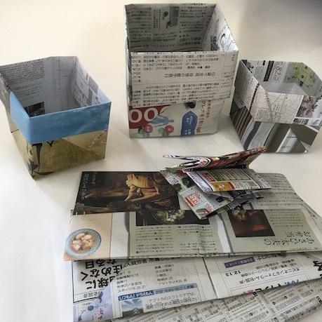 新聞紙でゴミ袋_c0132387_12321764.jpeg